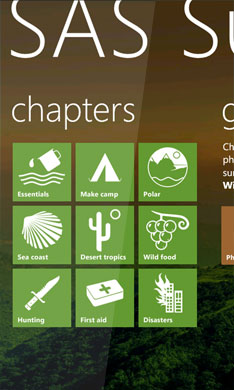 wp7 screen shots